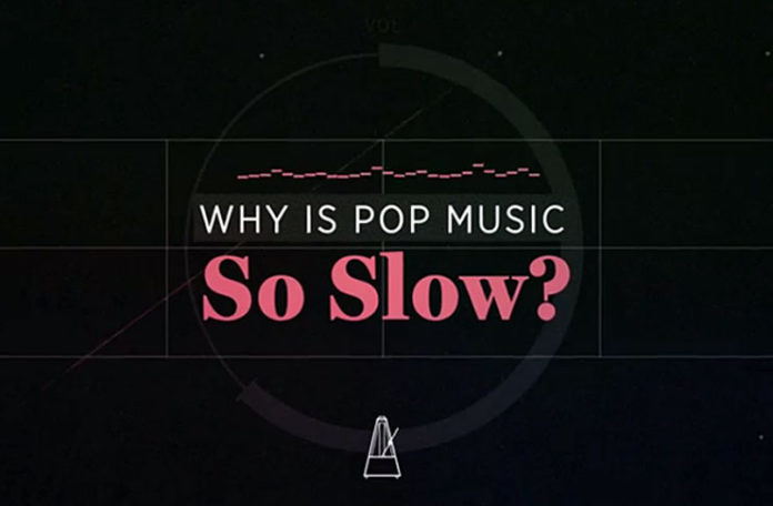 How Did Pop Music Get So Slow