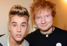 Justin Bieber and Ed Sheeran - Music Shore