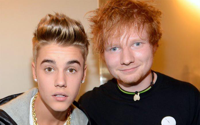 Justin Bieber and Ed Sheeran - Music Shore